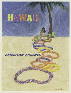 American Airlines, Hawaii Poster by John Fernie