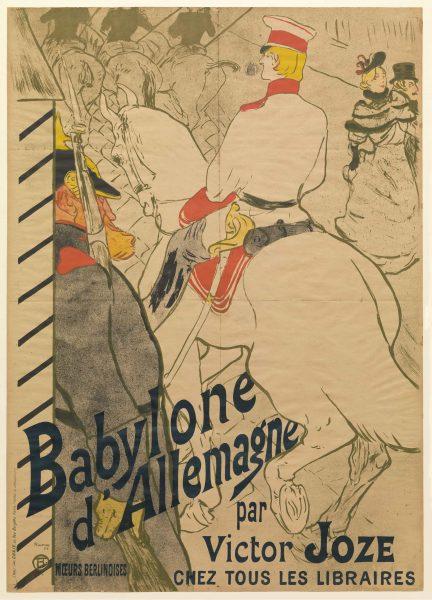 Babylone Henri De Toulouse-Lautrec