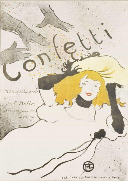 Confetti Henri De Toulouse Lautrec