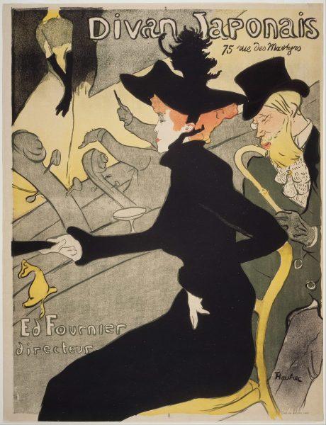 Divan Japonais Henri Toulouse-Lautrec