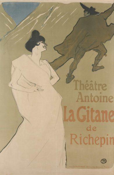 Henri de Toulouse-Lautrec- La Gitane- 1899