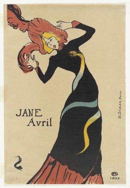 Jane Avril Henri de toulouse lautrec