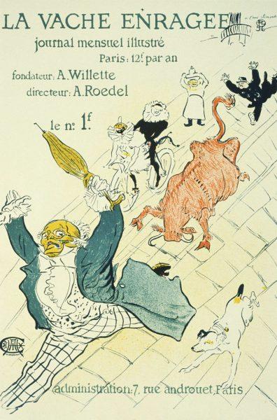 La vache enragee Henri de Toulouse-Lautrec