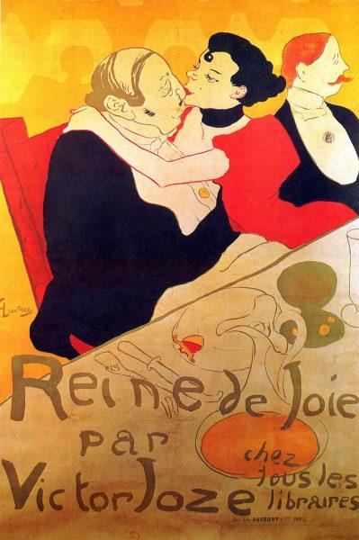 Queen of Joy Henri De Toulouse-Lautrec