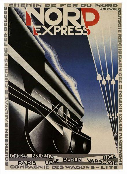 A.M Cassandre-Nord-Express