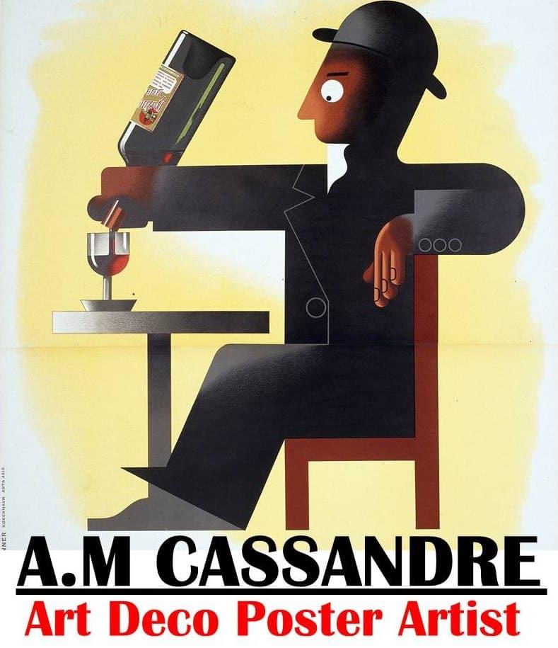 A.M Cassandre – Art Deco Poster Artist Legend