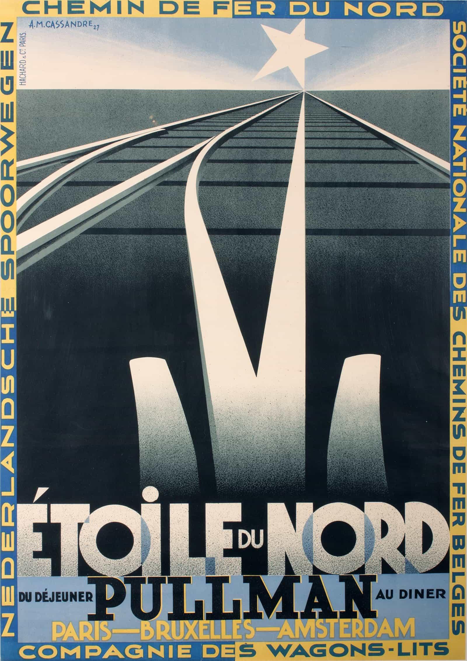 Am Cassandre The Legendary Art Deco Poster Artist