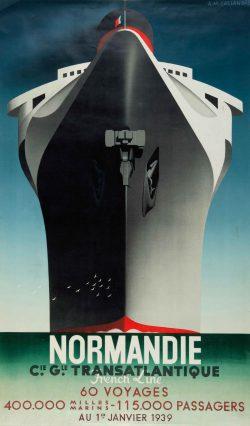 A.M Cassandre – Normandie 1935