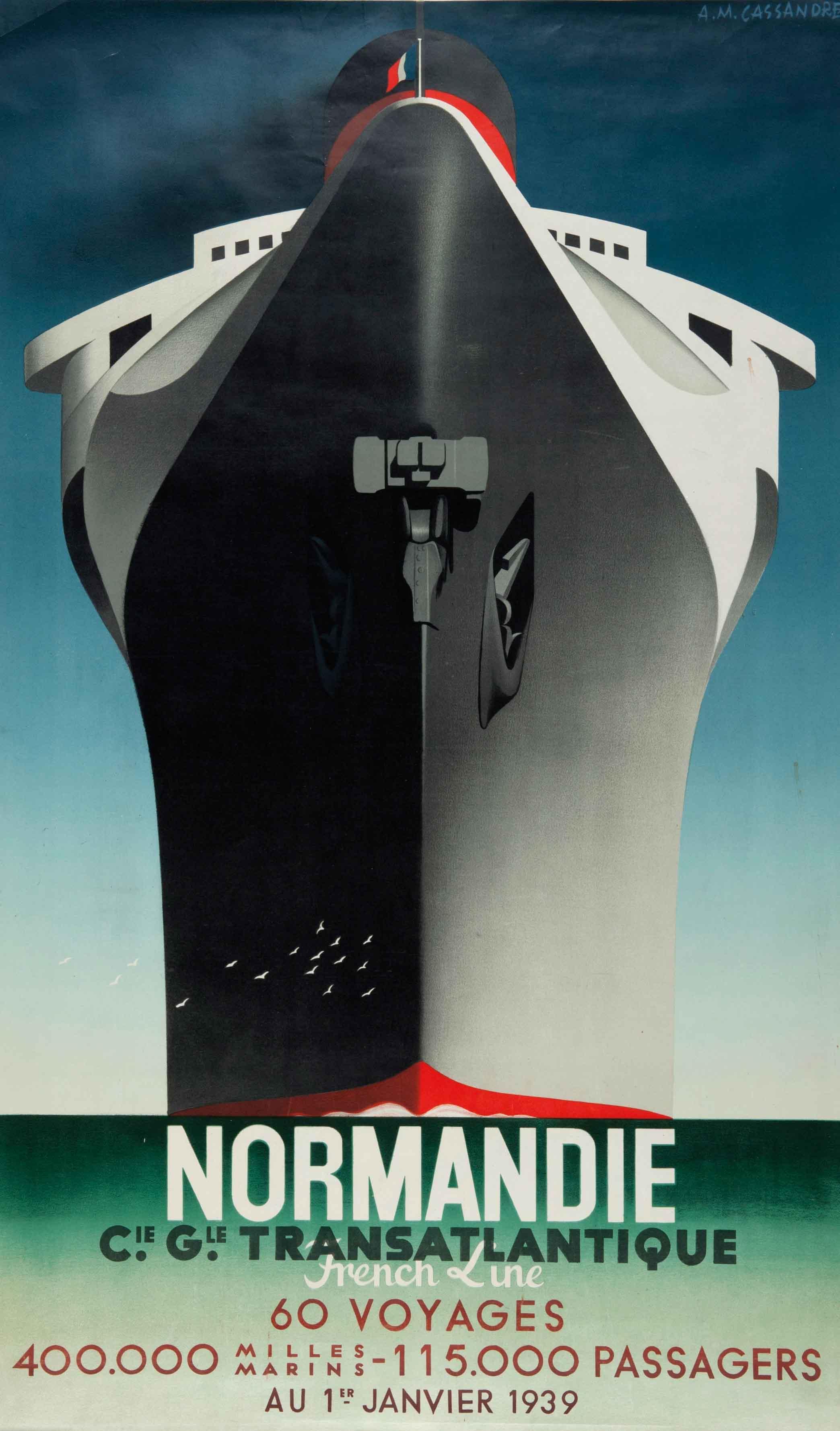 A M Cassandre The Legendary Art Deco Poster Artist