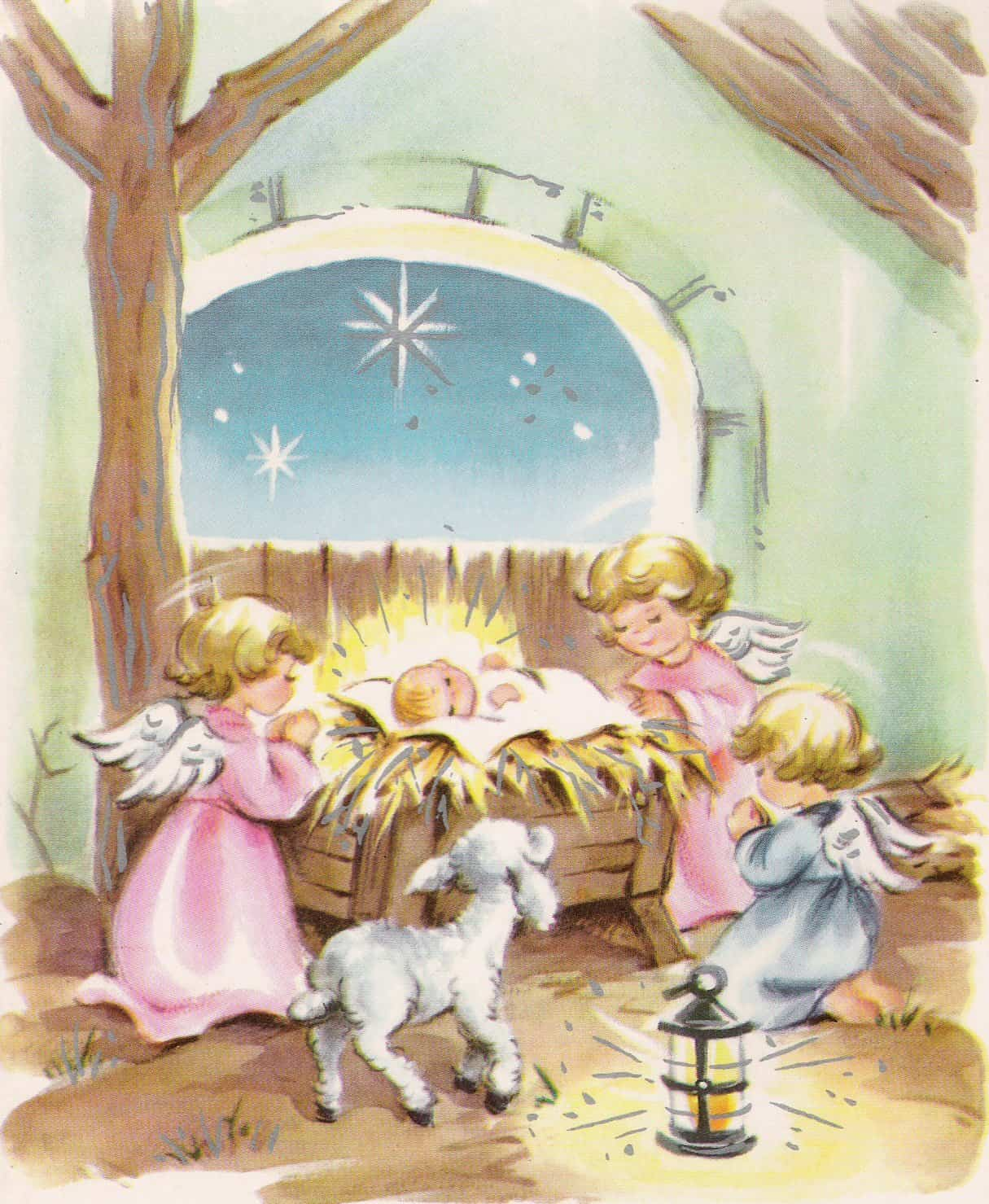 vintage christmas cards volume 1  retrographik