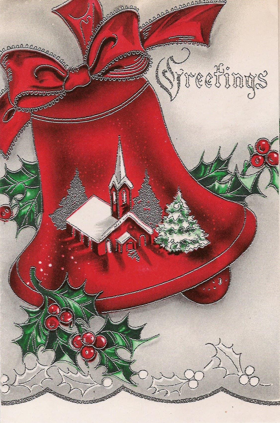 Vintage christmas cards volume 1 retrographik christmas cards v1 6 m4hsunfo