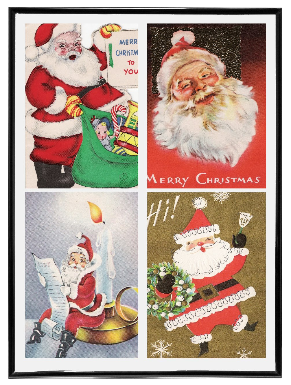vintage christmas cards volume 1 - Vintage Christmas Pictures
