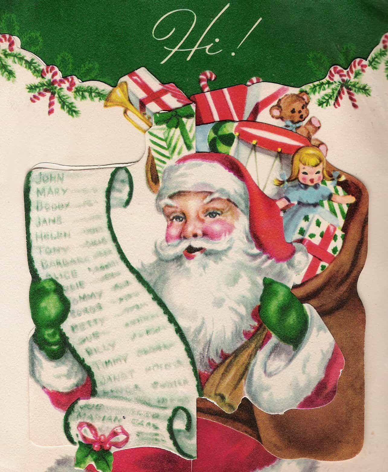 Vintage Christmas Cards Collection Vol.3 - RetroGraphik