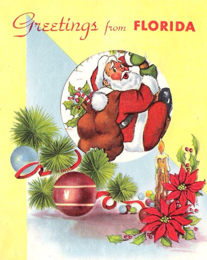 Vintage Christmas Cards Collection Vol3 Retrographik